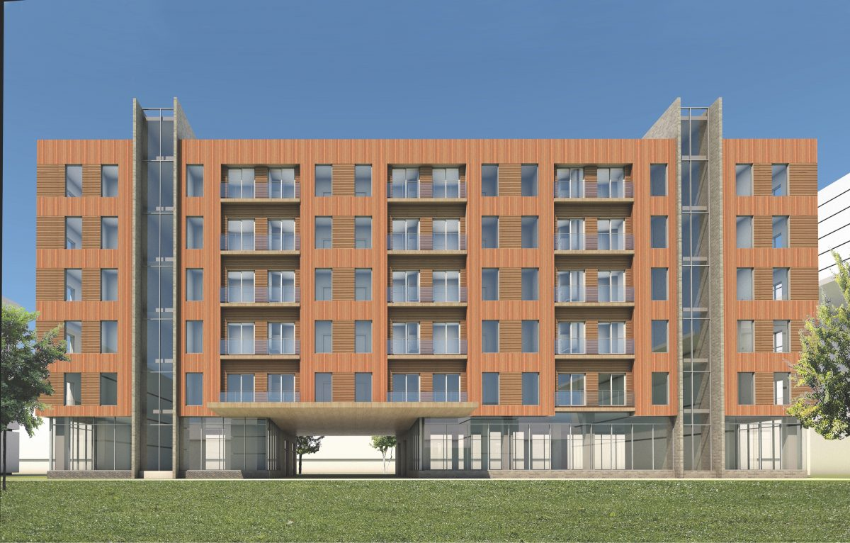 Building rendering Eited Straight