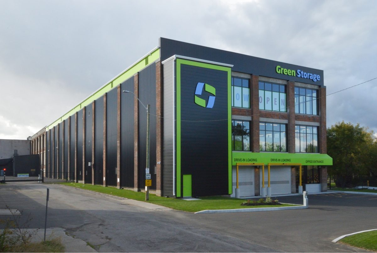 Green Storage Building Hamilton