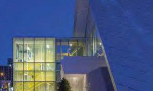 Monique-Corriveau Library glass