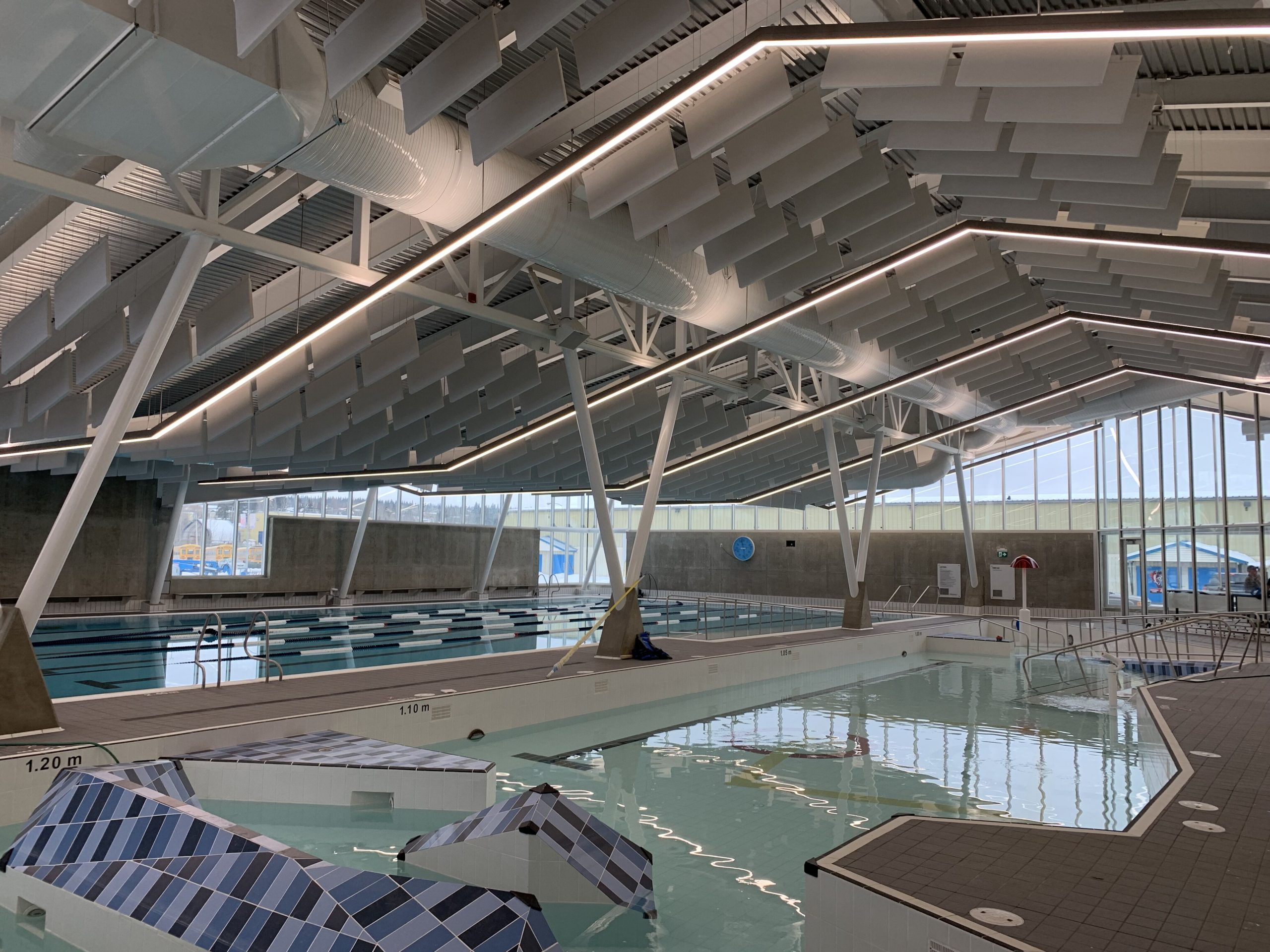 Vanderhoof Aquatic Centre - Interior