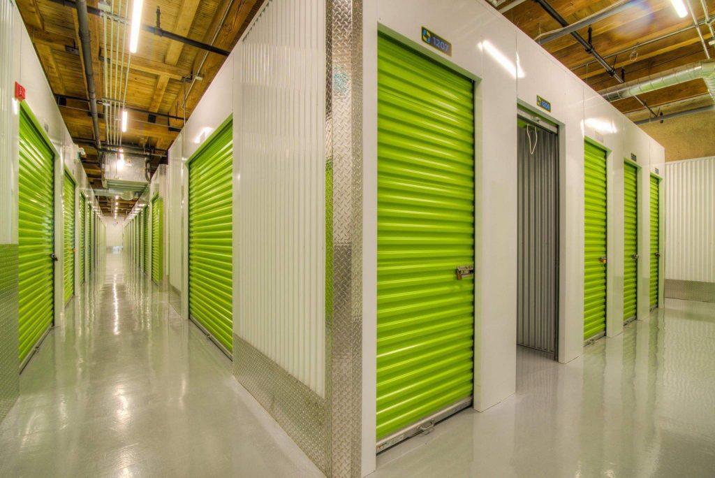 Green Storage Interior