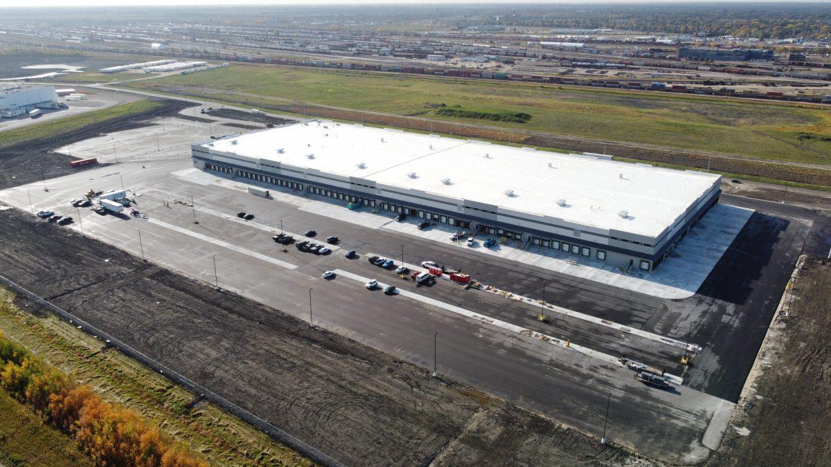 FedEx Building Winnipeg